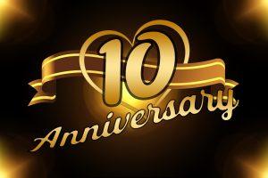 10 jähriges Jubiläum